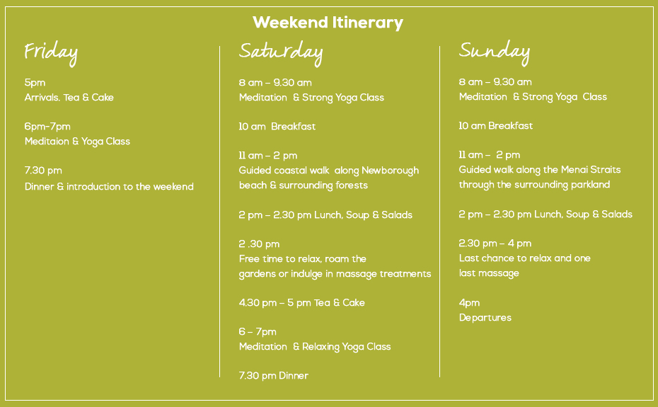 2 day spring itinerary