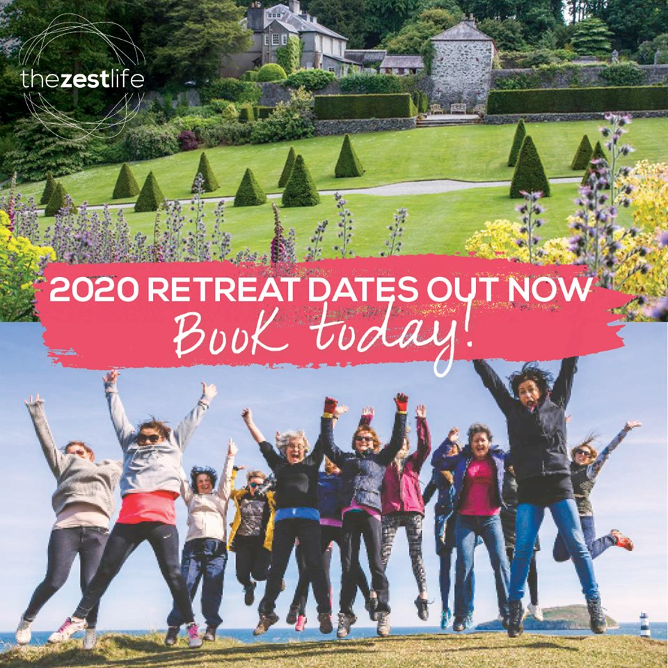 2020 Retreat dates out now: Book Today!