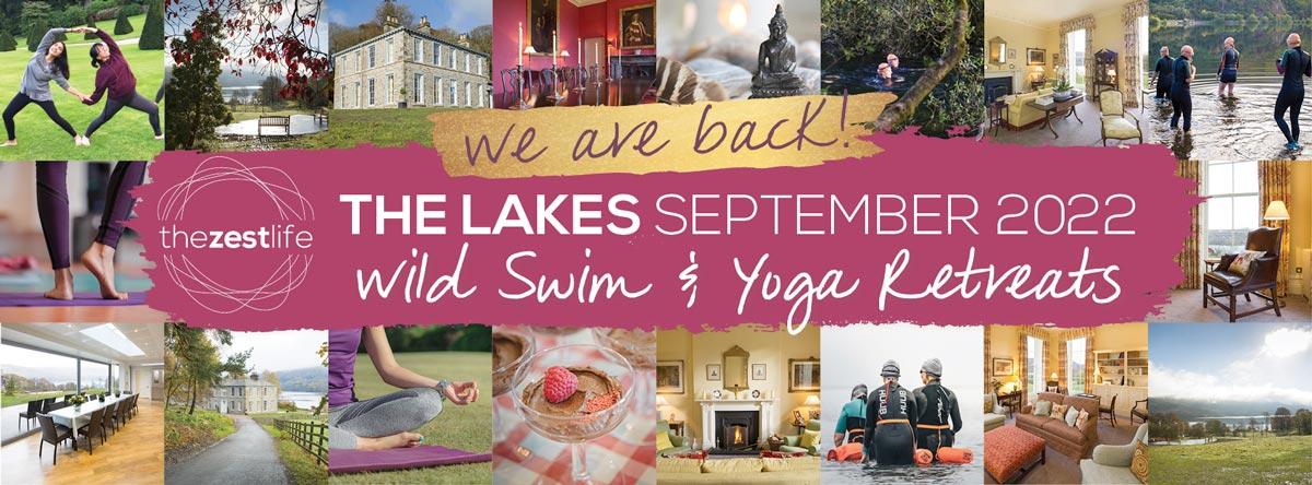 Swim the Lakes - Wild Swim & Yoga Retreat September 2022: Book today!